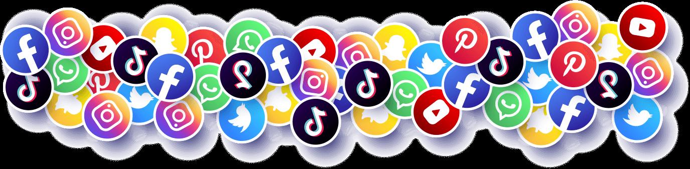 Szépségszalon marketing - közösségi média ikonok